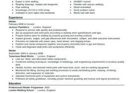 Welding Resume Template From Ironworker Resume Professional Iron