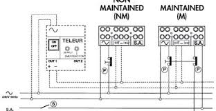 emergency light wiring diagram non maintained wiring diagram emergency lighting ballast wiring diagram emergency light wiring diagram non maintained