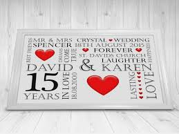 15th wedding anniversary gifts lovely beautiful 15 wedding anniversary gifts for him styles of 15th wedding