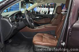 buick 2015 interior. buick envision interior at the 2015 shanghai auto show