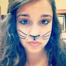cat face paint meo