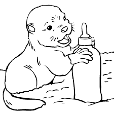 Small Picture baby animal coloring pages online coloring kids Pinterest Babies