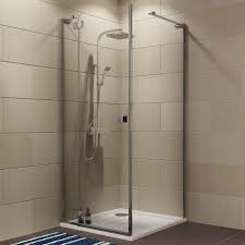 Bq It Kitchen Doors Cooke Lewis Luxuriant Square Shower Enclosure With Hinged Door