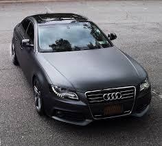 black audi a4. audi b8 a4 matte grey metallic plasti dipped my car black