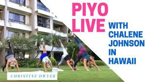 piyo workout live with chalene johnson