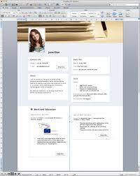 Cv Template Word Resume Sample Free Modern Templates Download