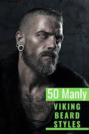 To think that vikings only had short hair or long hair, bowl cuts or reverse mullets, full beards or just mustaches or were clean shaven would all be a drastic oversimplification. Pin On Beard