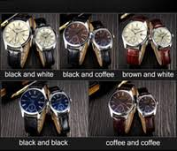 mens coloured watches price comparison buy cheapest mens cheap business luxury couple watches best lovers day date business wristwatch