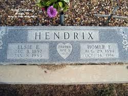 Elsie Estes Hendrix (1897-1985) - Find A Grave Memorial