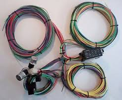12 circuit ez wiring harness chevy mopar ford street hot rod 21 circuit ez wiring harness mini fuse chevy ford hotrods universal x long wires