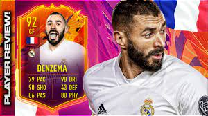 FIFA 21 HEADLINERS BENZEMA (92) PLAYER REVIEW! FIFA 21 ULTIMATE TEAM! -  YouTube