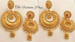 Latest Earring Design With Price Latest Gold Earrings Designs With Weight And Price The Fashion Plus