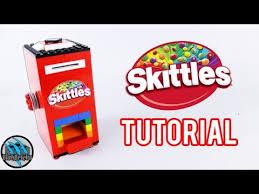 Create The Rainbow Skittles Vending Machine Stunning How To Build A Mini LEGO Skittles Machine Tutorial YouTube