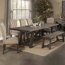 extravagant rustic dining table sets 23