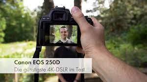 Canon EOS 250D | Canons günstigste DSLR mit 4K-Video und Augen-AF [Deutsch]  - YouTube
