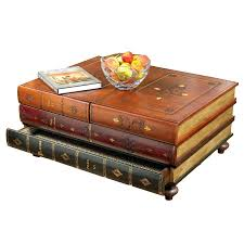 book coffee table furniture. Leather Books Table. Hover To Zoom Book Coffee Table Furniture O