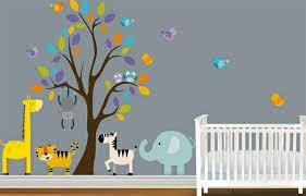 ... Wandtattoo - Baby Room Wall - 15 Wall Art Ideas with animals