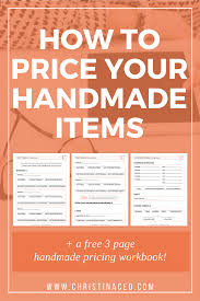 How To Price Handmade Crochet And Knitted Items Knit And