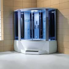 steam shower. Ariel WS-701 Steam Shower With Whirlpool Bathtub