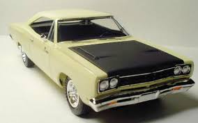 amt road runner by john van deusen also there is a sprue chrome parts a smaller sprue 4 clear window parts you get a small decal sheet the necessary roadrunner emblem for the