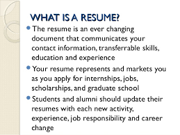 ... Dazzling Design What Is A Resume 9 A Resume Is ...