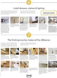 drawers embly instructions cabinets page 4 of 4 ikea ikea kitchen installation step by