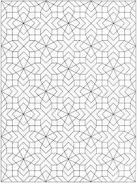 Creative Haven Geometric Allover Patterns Coloring Book Islamic