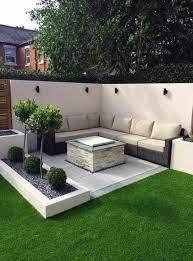 corner seating area garden outdoor 49
