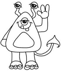 hug clipart black and white. monster - cute clipart for invitation hug black and white