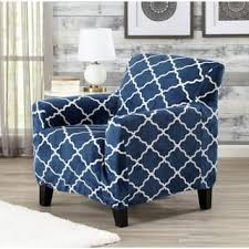blue chair slipcover. Unique Chair Great Bay Home Printed Velvet Plush Form Fit Chair Slipcover Throughout Blue Overstockcom