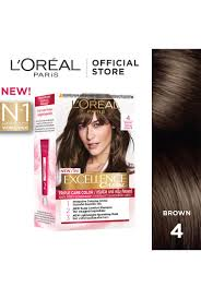 excellence creme 4 natural brown hair