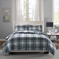 bedroom comforter sets plaid bedding