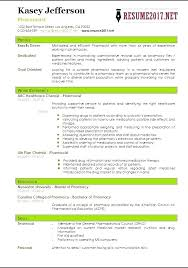 Modern Hospital Pharmacist Resume Sample Pharmacist Resume Hospital Pharmacist Resume Pdf Sample