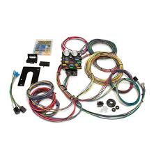 painless wiring 21 circuit wiring harness shipping painless wiring 50002 21 circuit pro street chassis wiring harness