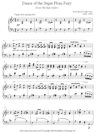 dance of the sugar plum fairy sheet music teacher talk kristin klade sheet music pianos and fairy