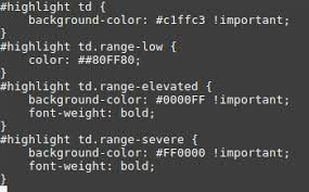 Splunk How To Make Color Table Rows Based On Conditions