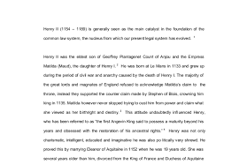 henry ii is generally seen as the main catalyst in henry ii 1154 1189 is generally seen as the main catalyst in the foundation of the common law system the nucleus from which our present legal system