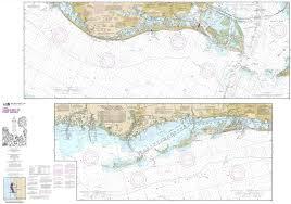 Intracoastal Waterway Nautical Charts Amazon Com Paradise Cay Publications Noaa Chart 11411