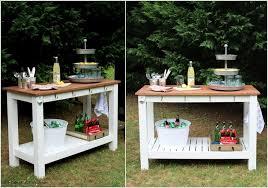 diy patio bar table. 10 Cool DIY Outdoor Bar Ideas For Summer Diy Patio Table