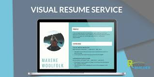 Get Visual Resume Writing Resume Designing Creative