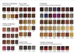 Scruples Hair Color Chart