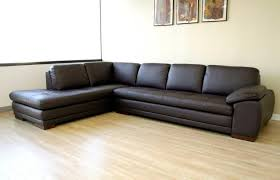 best espresso leather sectional couch