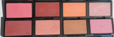 top row from left to right flamingo flushed life s a peach mirrored pink