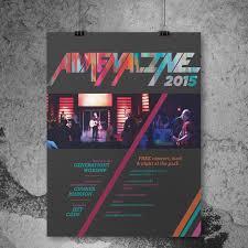 Concert Poster Design Adrenaline Concert Poster Design Portfolio E Liz Abeth Hixon