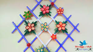 diy quill paper wall hangers for room decoration paper quilling art on paper quilling