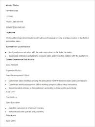 Automotive Resume Template Best of Automobile Resume Templates 24 Free Word PDF Documents Download