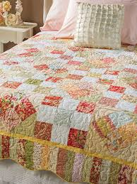 Quilting - Bed Quilt Patterns - Scrap Quilt Patterns - Spring Patches &  Adamdwight.com