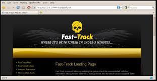 Fast track penetration test