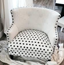 polka dot chair midway through painting polka dot chair blue polka dot chair cushions