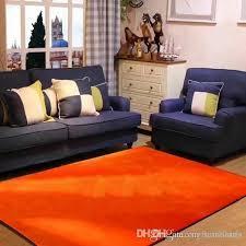 2018 brand new orange living room rug 150 x 200 cm anti slip flannel custom logo bedroom carpet home decorations carpet installations textured carpets from